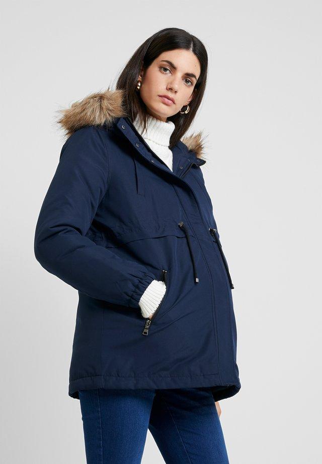 MLJESS JACKET - Parka - navy blazer/nature