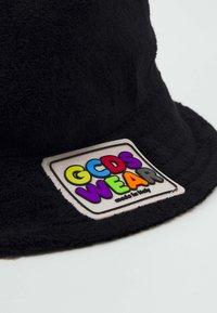 GCDS - FISHERMAN HAT UNISEX - Hat - black - 4