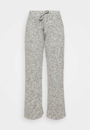 WIDE LEG BRUSHED TROUSER - Kalhoty - grey
