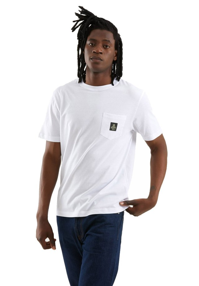T-shirt basic - bianco ottico