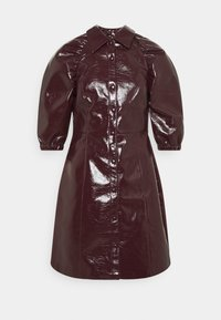 Glamorous Tall - LADIES DRESS  - Shirt dress - burgundy - 0