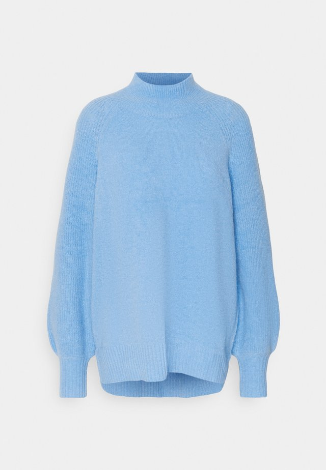 FULL SLEEVE JUMPER - Stickad tröja - blue
