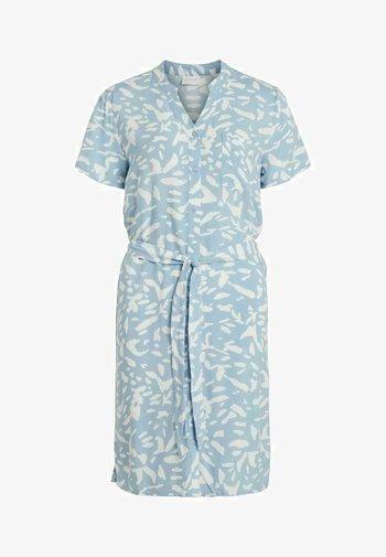 Vestido camisero - blue bell