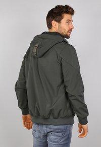 Gabbiano - Zip-up hoodie - army - 2