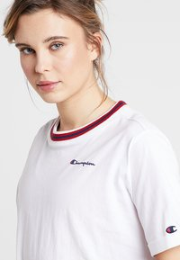 Champion - SHORT SLEEVE - Printtipaita - white - 3