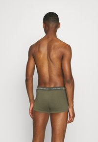 Calvin Klein Underwear - LOW RISE TRUNK 3 PACK - Culotte - blue - 1