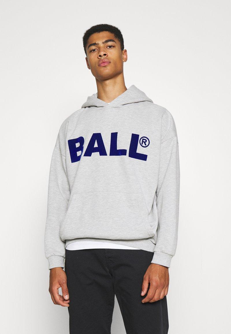 BALL - HAMMER FLOCK - Hoodie - mottled light grey