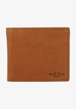 Wallet - haselnuss  ziegenleder