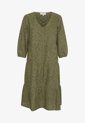 RISTACR - Day dress - burnt olive