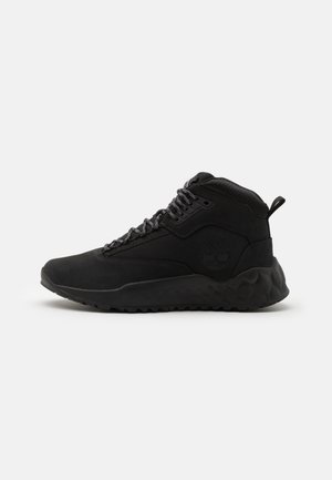 SOLAR WAVE MID - Sneaker high - blackout