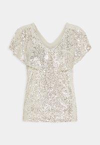 ICHI - IHJOLENE  - Print T-shirt - frosted almond - 0