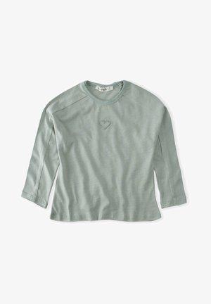 HEART  - Sweatshirt - metallic green