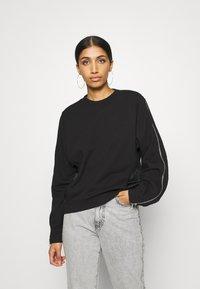Diesel - F-ROSETTA SWEAT-SHIRT - Sweater - black - 0