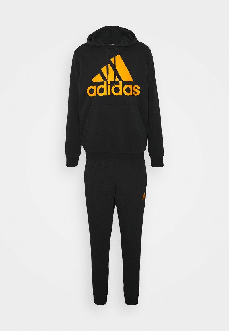 adidas Performance - SET - Tuta - black/semi solar gold