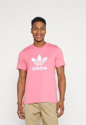 TREFOIL UNISEX - T-shirt med print - hazy rose/white