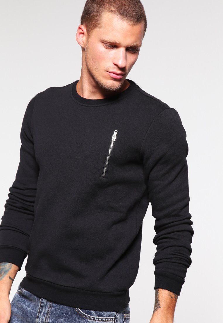 YOURTURN - Sweatshirt - black