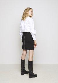 Steffen Schraut - POCKET SKIRT SPECIAL - Pencil skirt - black - 2