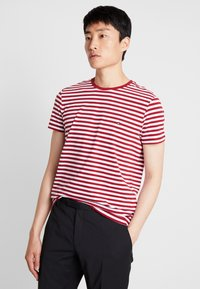 Tommy Hilfiger - T-shirt basic - rhubarb/bright white - 0