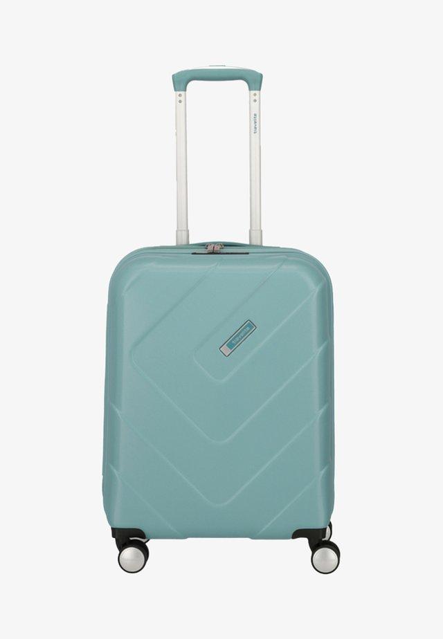 KALISTO - Wheeled suitcase - aqua