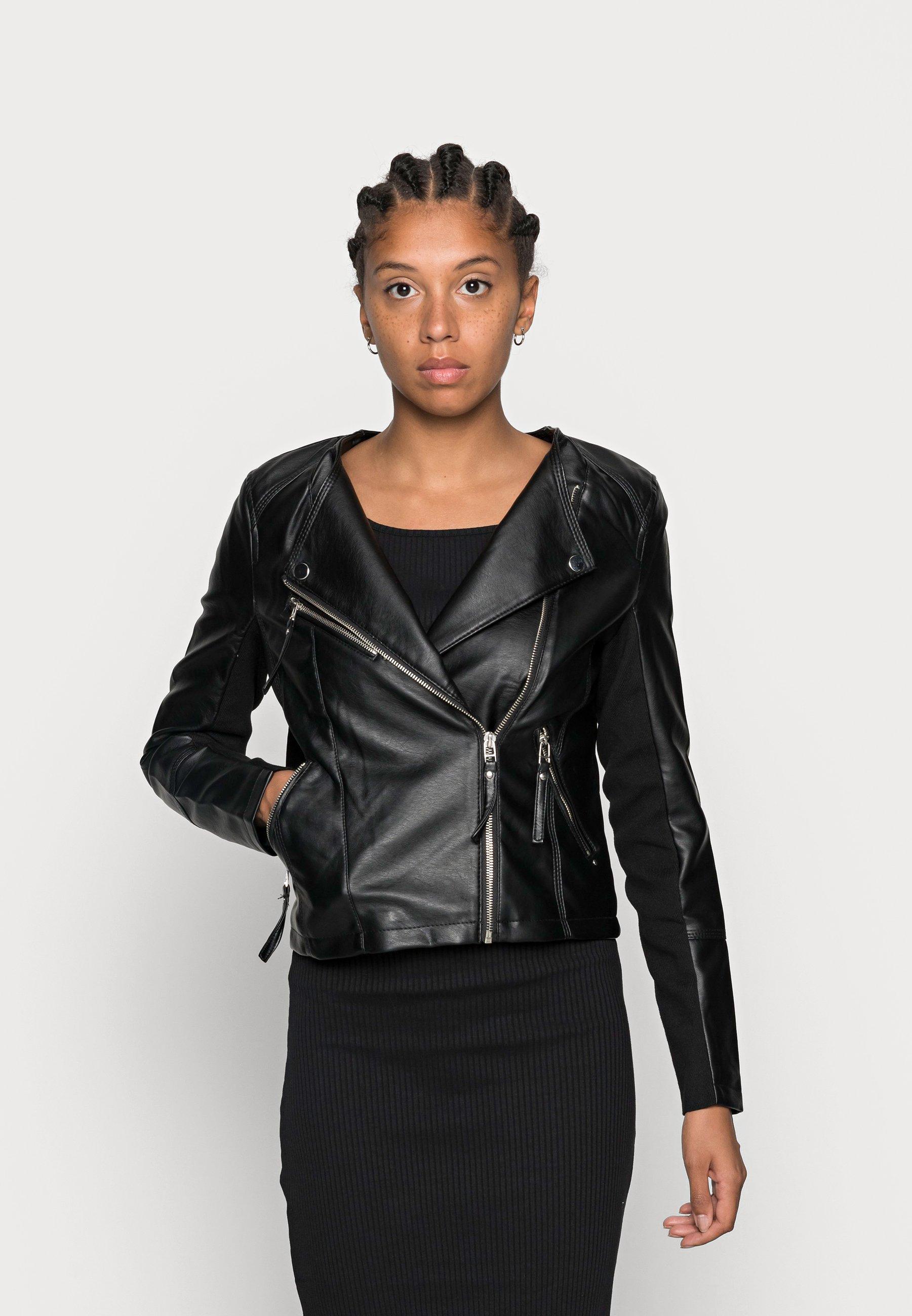 Women VMRIA SHORT JACKET - Faux leather jacket