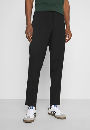 SLHSLIMTAPERED JAMES - Suit trousers - black