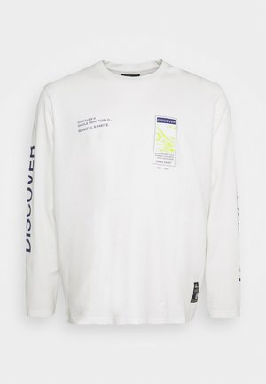 USMICAH TEE - Long sleeved top - white