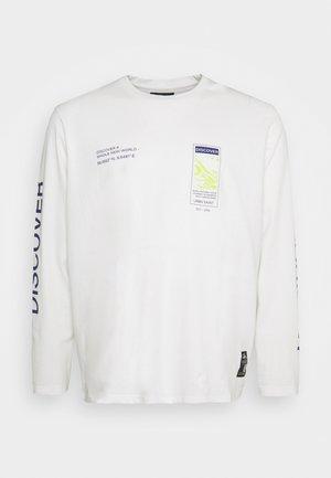 USMICAH TEE - Maglietta a manica lunga - white