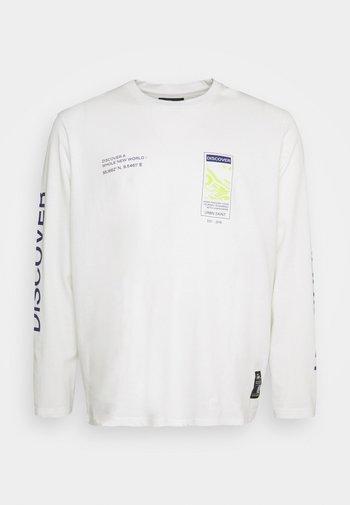 USMICAH TEE - Long sleeved top - white