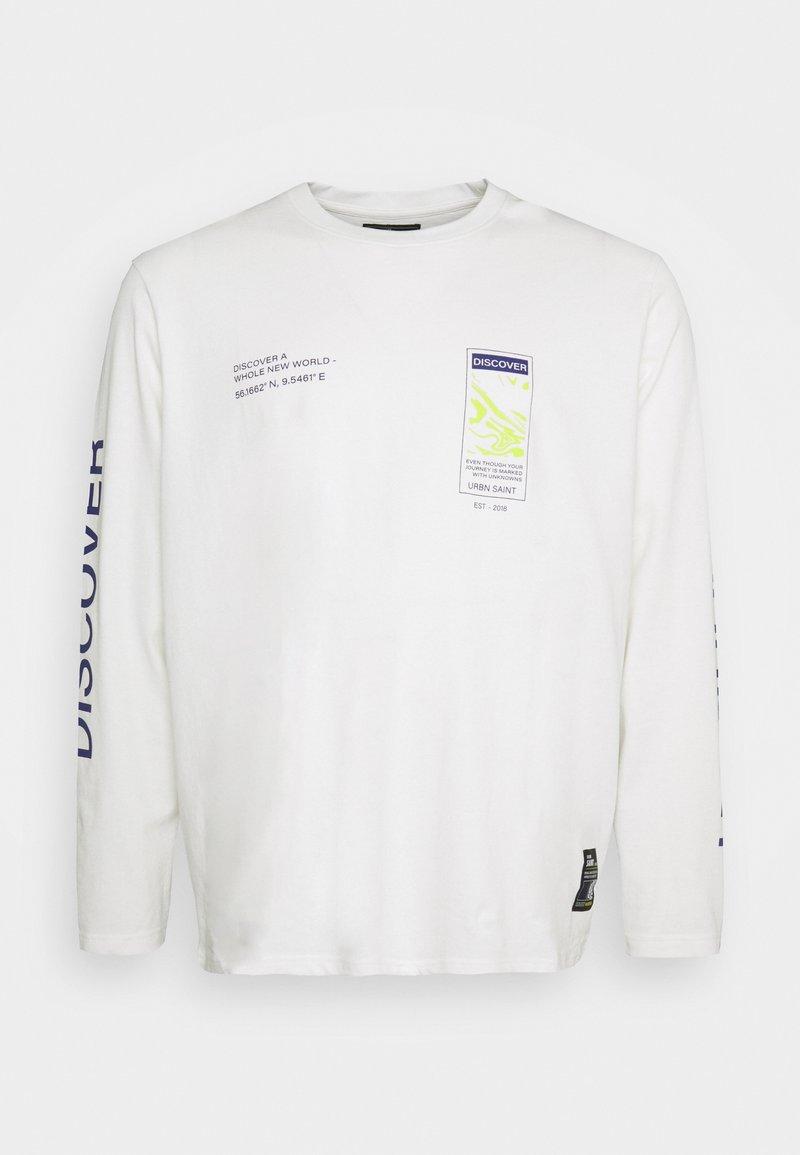 URBN SAINT - USMICAH TEE - Maglietta a manica lunga - white