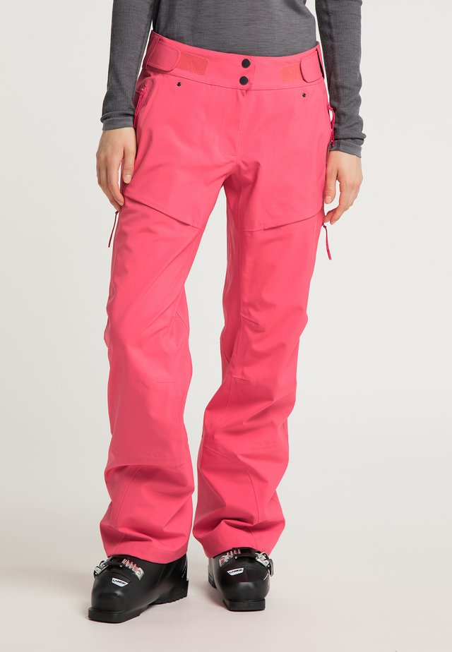 Trousers - grapefruit pink
