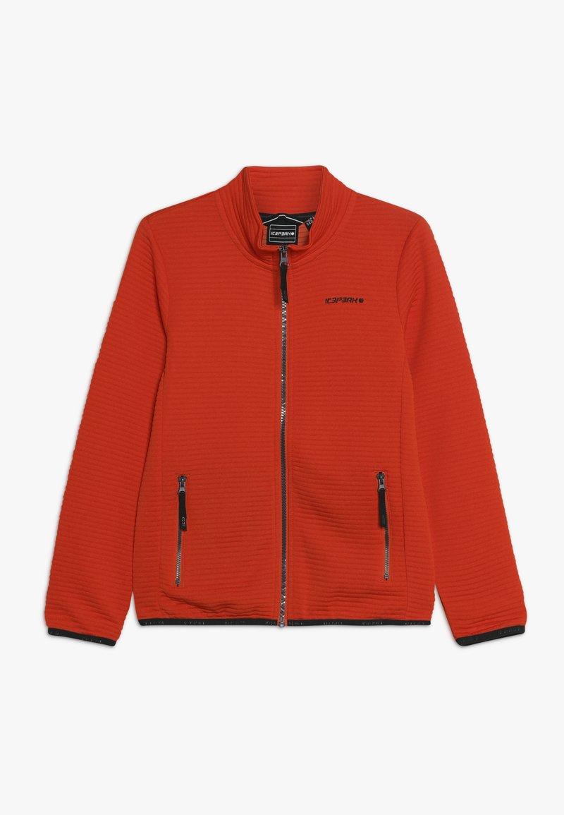 Icepeak - KERSHAW - Training jacket - burned orange