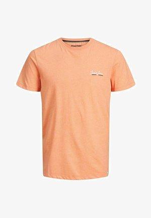 Basic T-shirt - shell coral