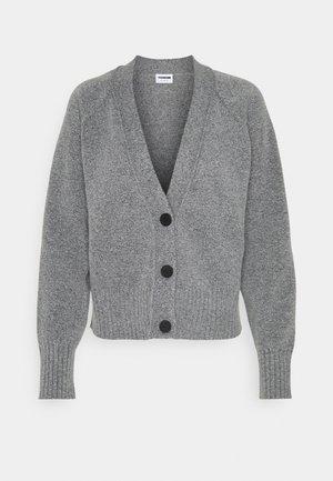 NMIAN - Cardigan - mottled grey