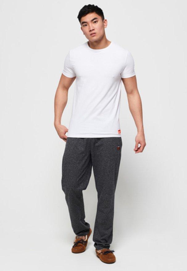 Superdry - 2 PACK - T-shirt basic - laundry white / laundry black