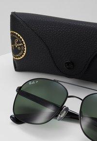 Ray-Ban - Sluneční brýle - black/polar green - 2