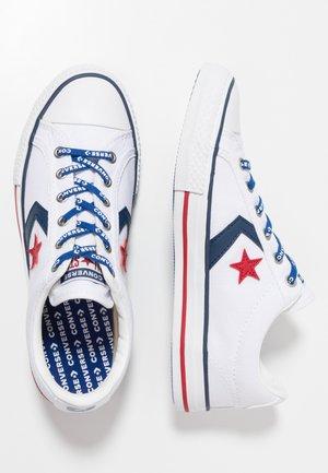 STAR PLAYER - Zapatillas - white/navy/gym red