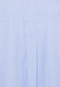 ONLY Carmakoma - CARVIGGI LIFE STRIPED - Blouse - white/blue - 6
