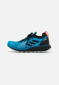 adidas Performance - TERREX TWO PARLEY - Trail running shoes - shadow blue/core black/true orange - 0