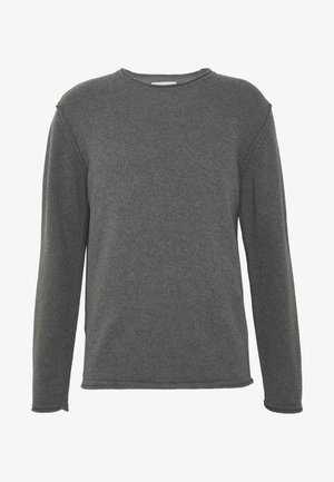 PETER - Jumper - dark grey melange