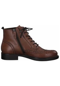 Tamaris - Lace-up ankle boots - brandy 306 - 3
