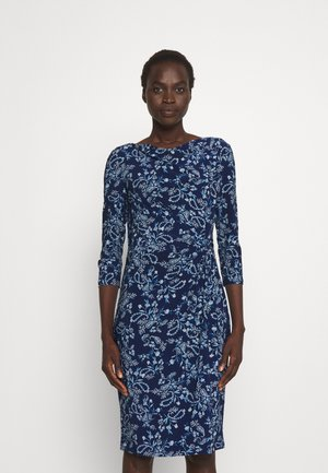 TRAVA 3/4 SLEEVE DAY DRESS - Jersey dress - twilight royal/blue