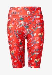Desigual - Leggings - Trousers - red - 5