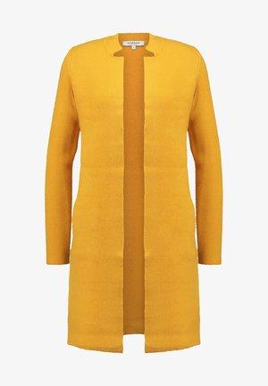 BLOCK - Cardigan - jaune moutarde