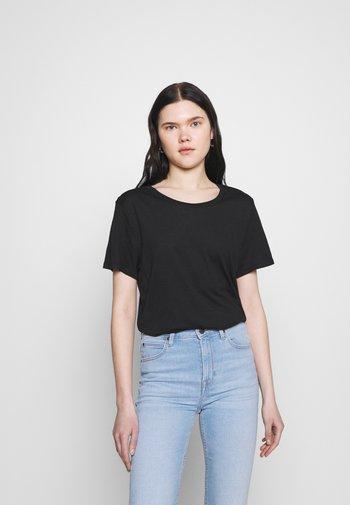 SIMBA TEE 2 PACK - Camiseta estampada - white light solid/black solid