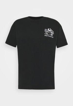 DISNEY MICKEY AND FRIENDS TEE - Print T-shirt - mineral black