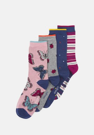 ELLIE WILDLIFE SOCKS BOX 4 PACK - Ponožky - multicoloured