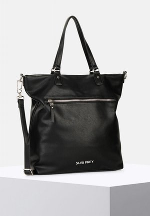 TERRY - Shopping Bag - black