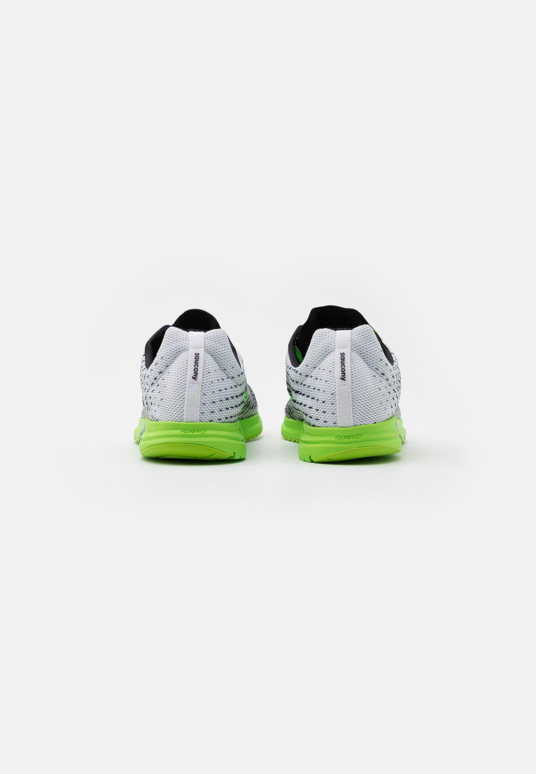 Barato Calzado de hombre Saucony TYPE A9 Zapatillas de competición white/slime Mb8ePf