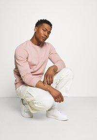 Brave Soul - Sweatshirt - dusky pink/ light grey marl - 4