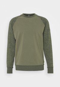Nike Golf - DRY PLAYER CREW - Mikina - medium olive/sequoia - 4